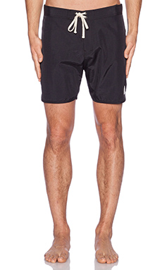 SATURDAYS NYC Logan Boardshorts in Black