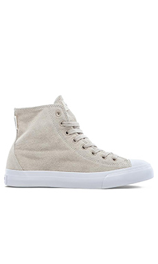 SATURDAYS NYC Mike Suede Sneakers in Stone