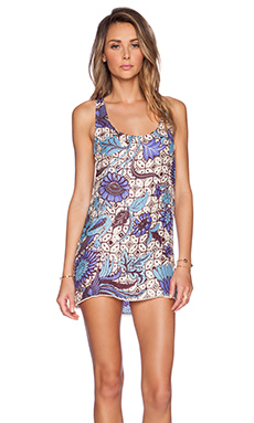 Sauvage Indian Summer Dress in Azul