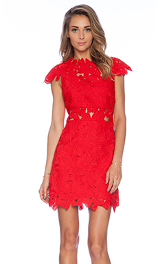 SAYLOR x REVOLVE Piper Dress in Bright Red