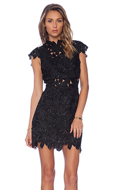 SAYLOR Piper Dress in Black