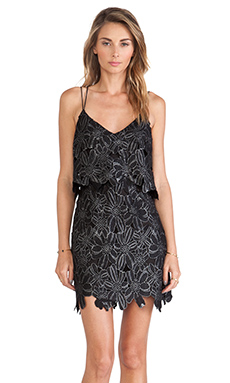 SAYLOR Brielle Dress in Black