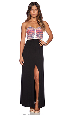SAYLOR Erin Maxi Dress in Multi