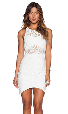 SAYLOR Kirsten Dress in White