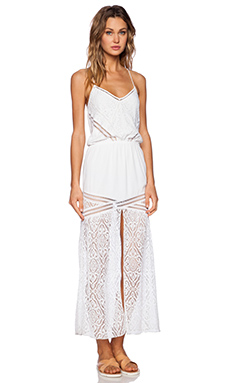 SAYLOR Lesley Maxi Dress in White