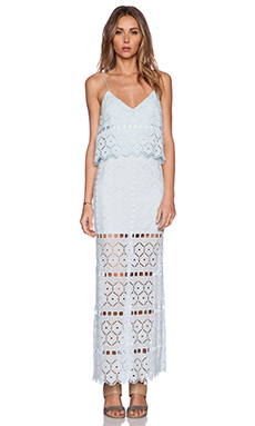 SAYLOR Melony Maxi Dress in Robins Egg