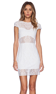 SAYLOR Tamara Dress in White