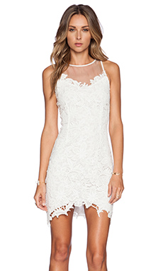 SAYLOR Catrina Dress in White