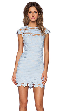 SAYLOR Jessa Dress in Sky