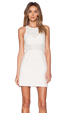 SAYLOR Roslyn Dress in White
