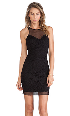 SAYLOR Audrey Dress in Black