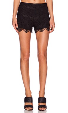 SAYLOR Sierra Shorts in Black