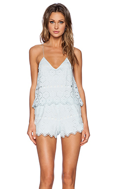SAYLOR Summer Romper in Robins Egg