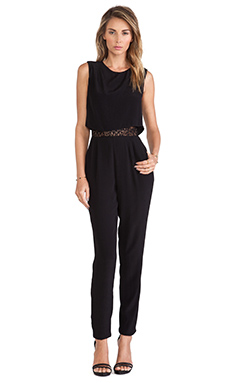 SAYLOR Mila Jumpsuit in Black