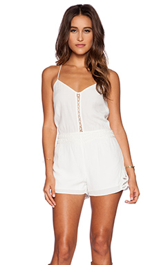 SAYLOR Tori Romper in White