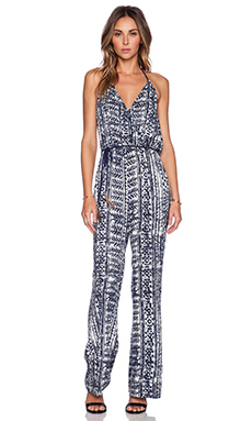 SAYLOR Sady Jumpsuit in Blue & White