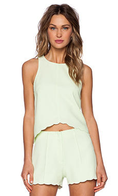 SAYLOR Darcy Top in Lime