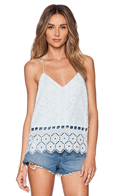SAYLOR Katie Top in Robins Egg