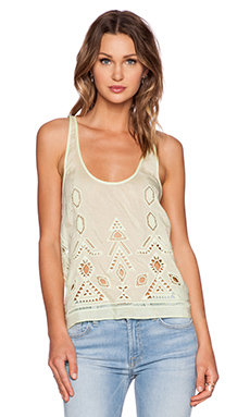 SAYLOR Izzy Top in Faded Lime