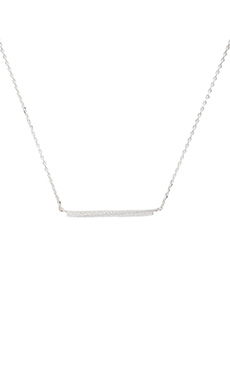 Stella and Bow Siouxsie Sioux Necklace in Silver