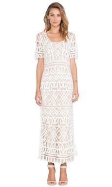 STONE_COLD_FOX Denver Dress in White