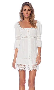STONE_COLD_FOX Austin Dress in White