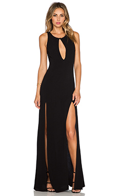 STONE_COLD_FOX Owen Gown in Black