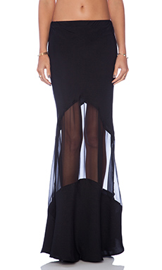 STONE_COLD_FOX Virginia Skirt in Black