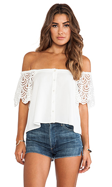 STONE_COLD_FOX San Jose Blouse in Ivory