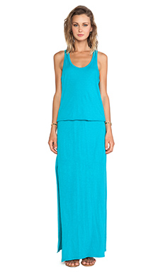 SUNDRY Maxi Dress in Teal