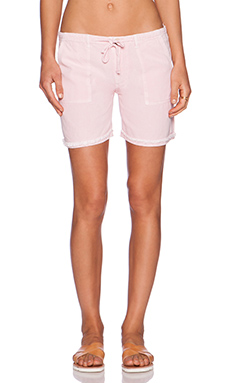 SUNDRY Army Short in Dusty Pink