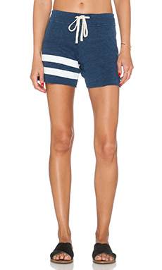 SUNDRY Stripe Vintage Short in Vintage Deep Sea