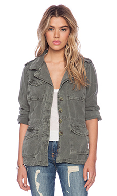 SUNDRY Army Jacket in Army