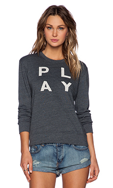 SUNDRY Play Basic Sweatshirt in Asphalt