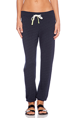 SUNDRY Classic Sweatpant in Navy