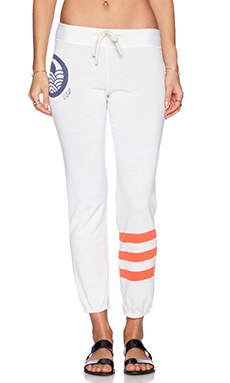 SUNDRY Classic Sweatpant in White
