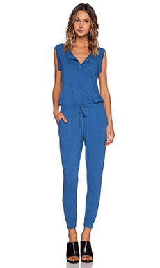 SUNDRY Jumpsuit in Ocean
