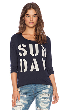 SUNDRY Sunday Tunic in Navy