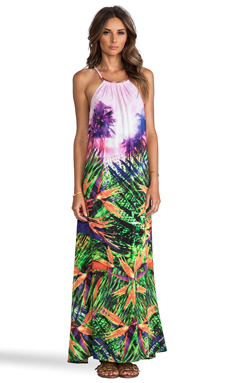 Seafolly Rio Maxi Dress in Oasis