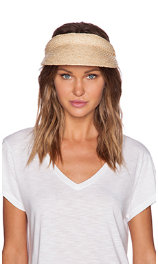 Seafolly Eagle Bay Visor in Natural