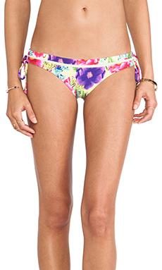 Seafolly Paradiso Brazilian Tie Side Bikini Bottom in Zest