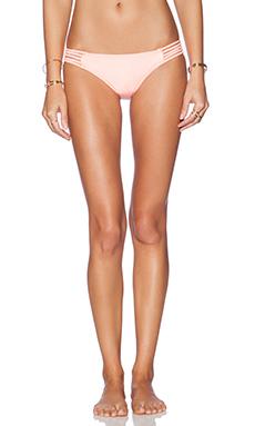 Seafolly Shimmer Hipster Bikini Bottom in Fluoro Melon