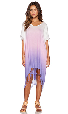 Seafolly Prismatic Refraction Caftan in Lilac