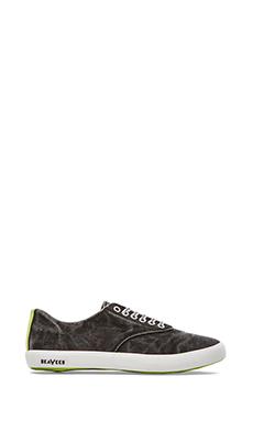 SeaVees x Katin USA 08/63 Hermosa Plimsoll Sneaker in Black Wash
