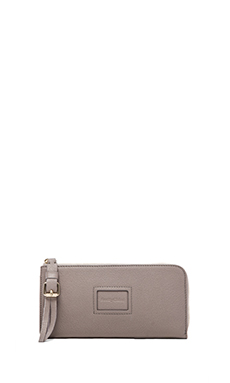 See By Chloe Alix Long Zipped Wallet in Moon