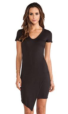 sen Shena Dress in Washed Black