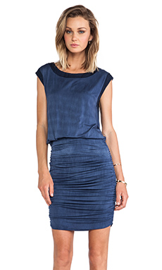 sen Belinda Dress in Indigo Wash
