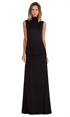 sen Gareth Maxi Dress in Black