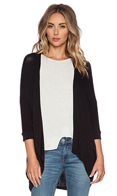 sen Shaari Cardigan in Black