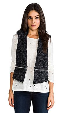sen Vanessa Vest in Black/Grey